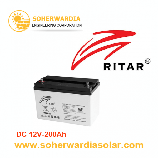 Ritar-DC-12V-200Ah-Battery