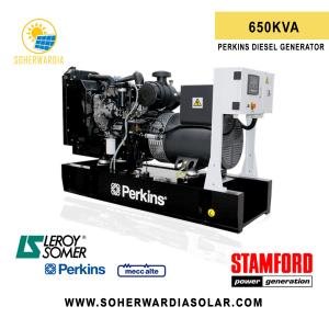 pdg 650 perkins diesel generator